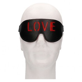OUCH! MÁSCARA - LOVE - NEGRO